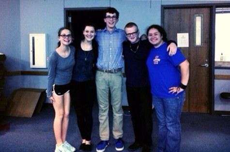 Thespian Officers Named for 2014-2015