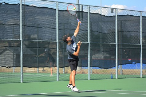 Tennis Loses Game Against Georgetown in District Tournament