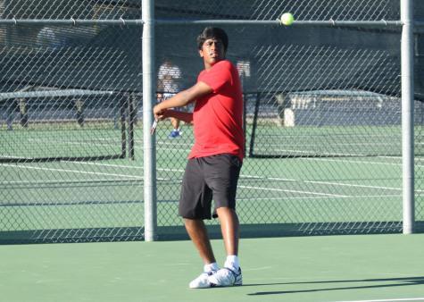 Varsity Tennis Takes on McNeil Tournament