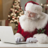 Thanks to technology advances, Santa might email presents in the future  instead of delivering face-to-face.