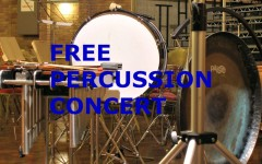 Spring concert to feature percussionists