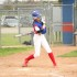 Senior Hannah Holt hitting a single against Cedar Park.
