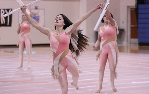 Winterguard sets high standards at State Championship
