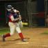 Senior Kara Jones hitting the ball.