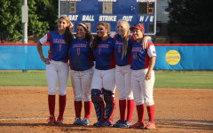 Softball honors seniors in final home game