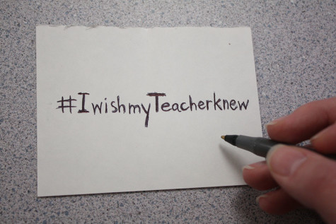 #Iwishmyteacherknew sparks discussion, raises awareness