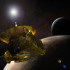 The New Horizons spacecraft will make a flyby to Pluto and its closest moons. The journey took over three billion miles and 15 years.
