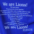 One of the t-shirts that are available at The Pride with Ms. Spicer's quote from her graduation speech. Other t-shirts include class shirts and spirit shirts.