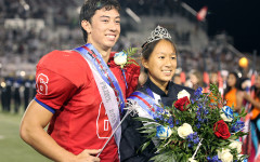 Homecoming royalty crowned at halftime