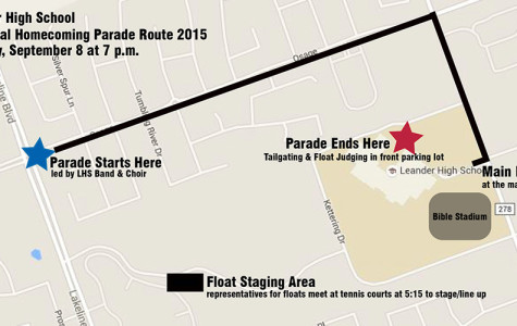 Parade kicks off Homecoming festivities