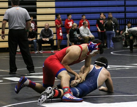 Wrestling produces two district champs