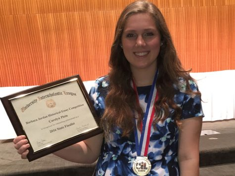 Senior wins first at UIL state