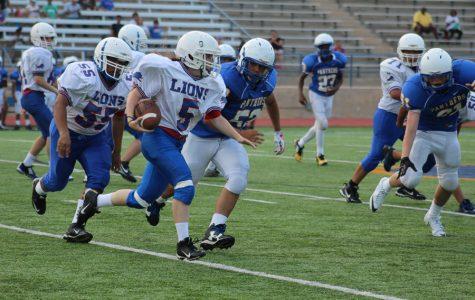 Freshmen Lions start season with a roar