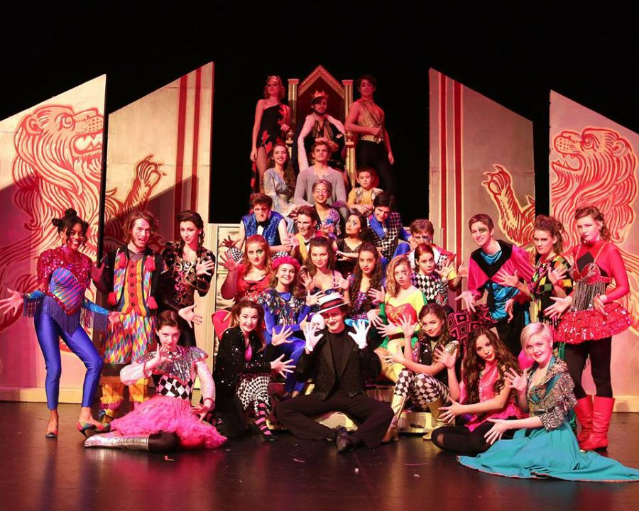 The+cast+of+this+years+musical%2C+%E2%80%98Pippin%E2%80%99%2C+performed+at+the+4th+annual+GAHSMTA+awards.+Their+featured+number+was+%E2%80%98Magic+To+Do%E2%80%99%2C+which+opened+Act+Two+of+the+award+ceremony.%0A