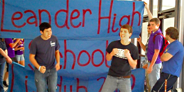 Students unite for 2012 Lipdub video