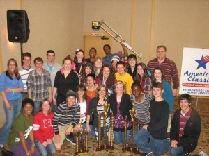 Choir Students Advance to Region Competition