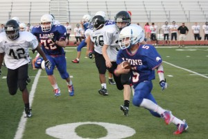 Junior Varsity Football Defeats Vandegrift