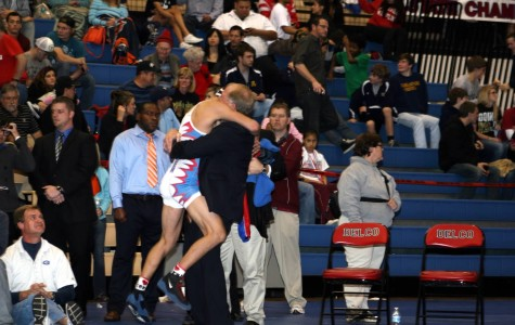 Lion Wrestler Claims a State Victory