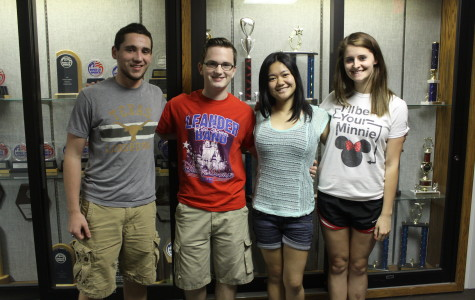 Drum Majors and Section Leaders for 2013-2014