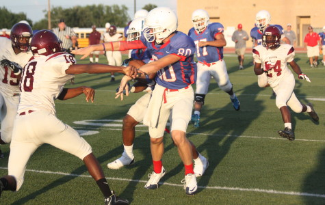 Varsity scrimmage against Killeen from August 23, 2013.