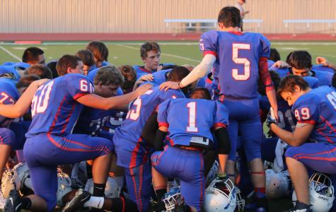 JV Football Unable to Master Vista Ridge/Manor