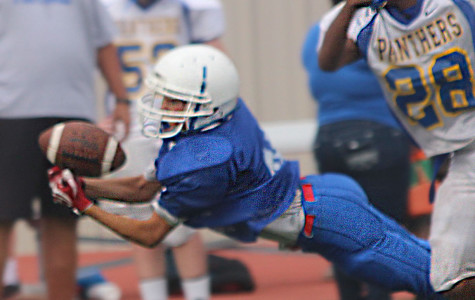 JV/ Freshman Football: Caged by Panthers