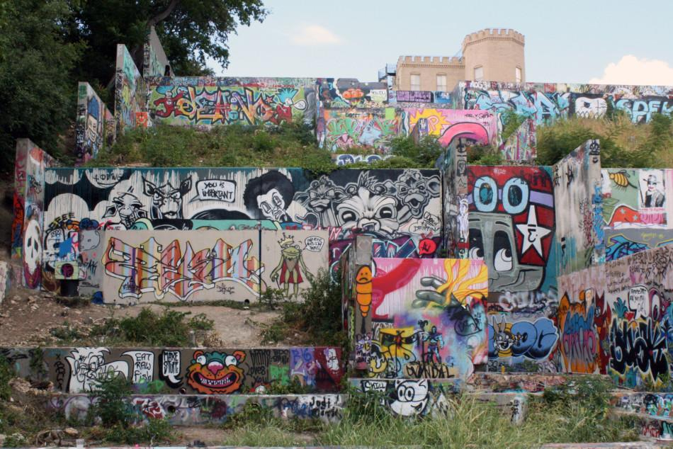The Best of Austin Part 2...... The Wall