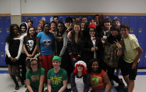 Anime Club Hosts Halloween Party