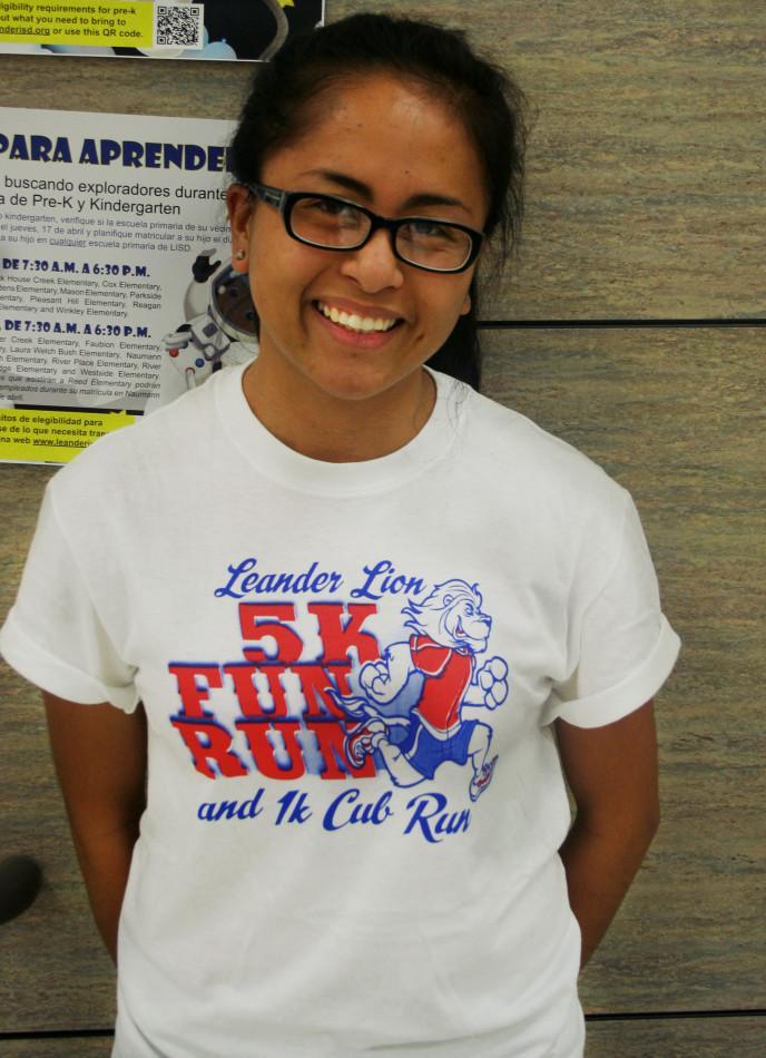 Senior Annette Giron plans to go to school for nursing in the fall.