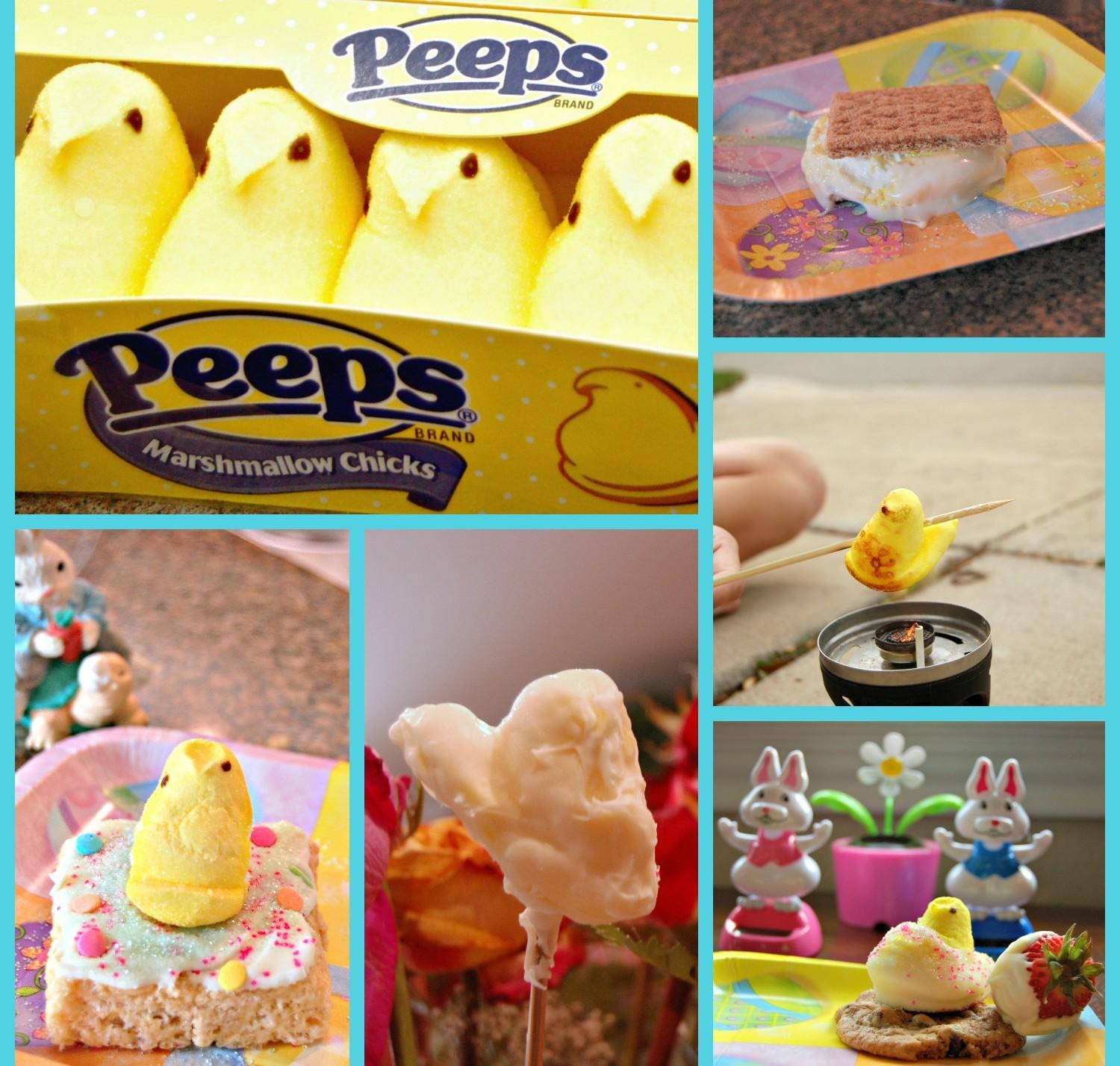 Collage of Peeps