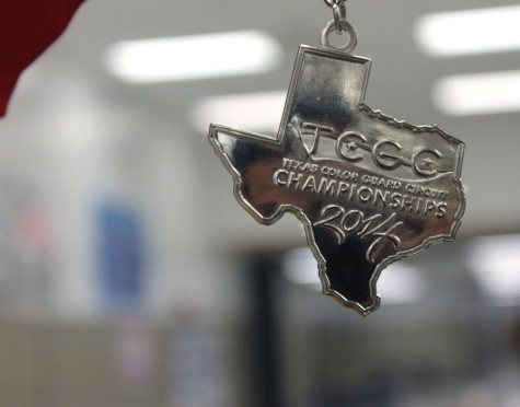 Winter Guard Wins State Silver Medal