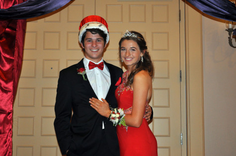 King Tony Alvarez and Queen Hannah Giamfortone