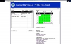 Sign up for a different PRIDE at adv.leanderisd.org