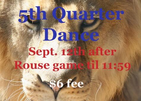 Principal Announces Fifth Quarter Dance