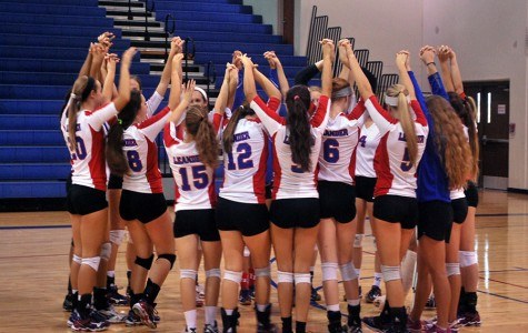 Volleyball serves up a win against Marble Falls