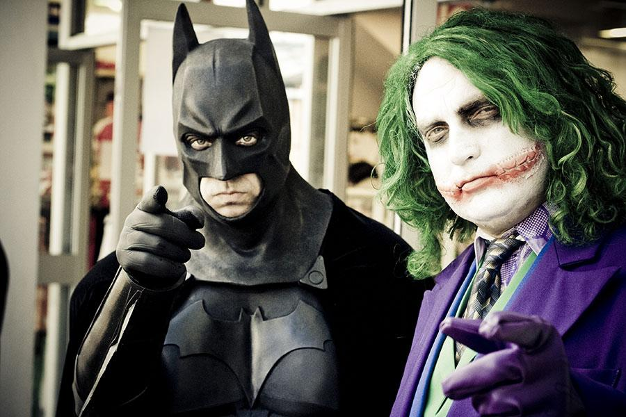 Batman With the Joker. Even though (spoiler alert) Joker died in the last game.