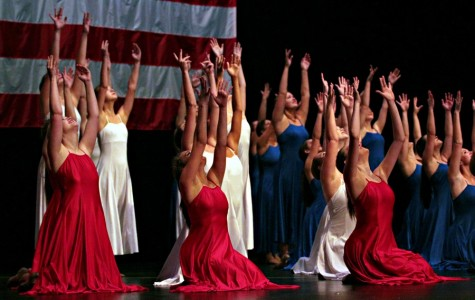 The Blue Belles perform God Bless the USA