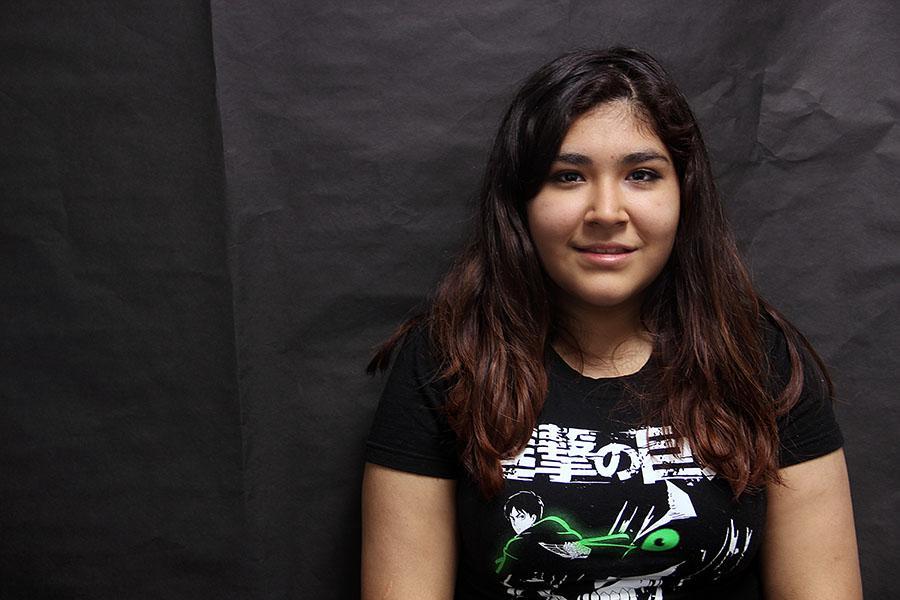 Freshman Ivana Garcia-Mata
