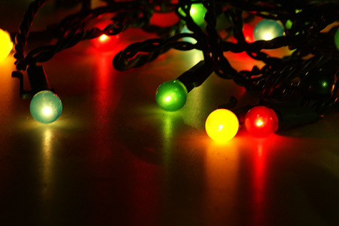 Christmas lights are one of the many holiday decorations used around the house, the tree, and roadways
