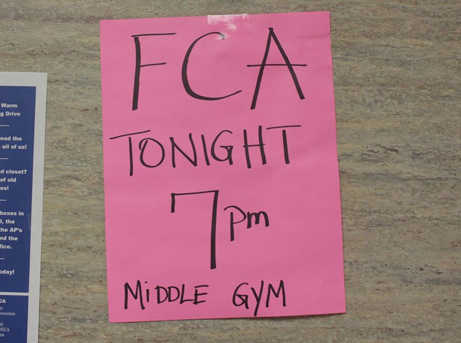 FCA+meets+every+Monday+night+in+the+Middle+Gym.