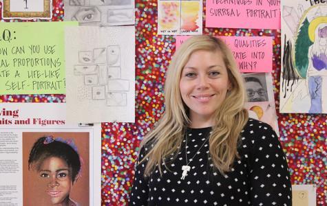 New art teacher: meet Mary Jeffrey