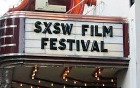 Marquee for the SXSW Film Festival