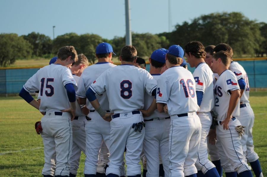 Leander Lions Baseball team.
