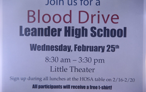 HOSA Hosts Blood Drive