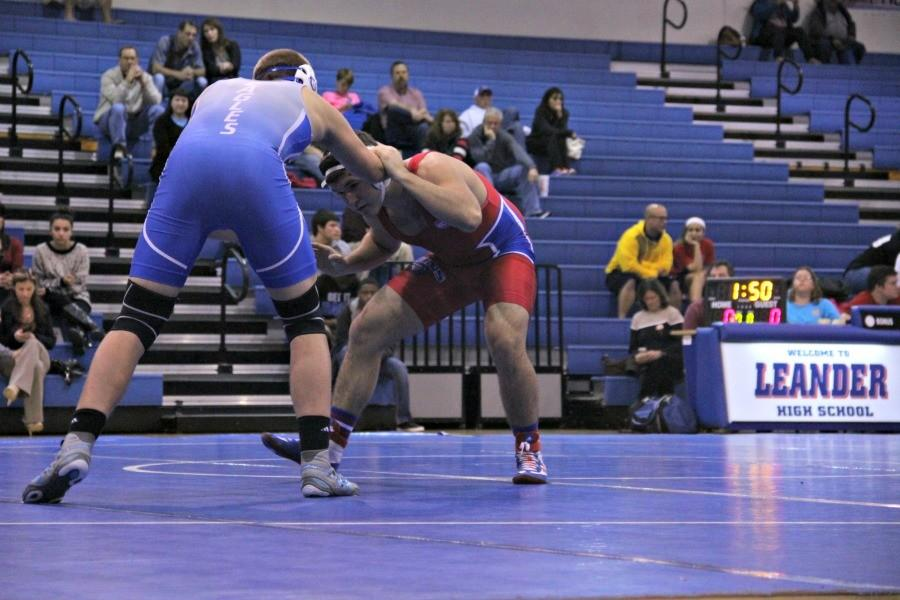 Sophomore wrestler goes into triple overtime match