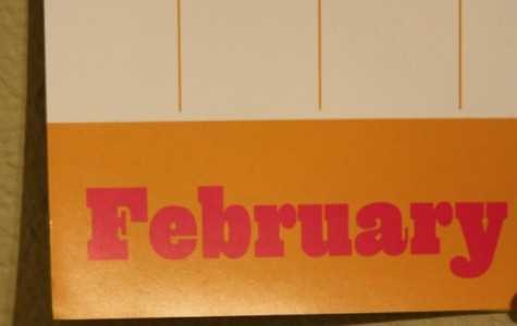 Picture of February calendar