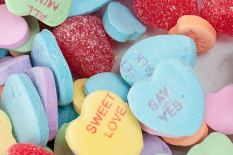 Candy hearts are one of the many gifts that are widely popular on Valentine