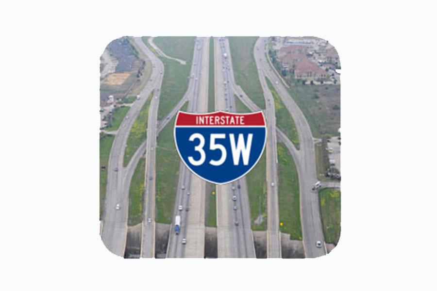 I-35 west logo