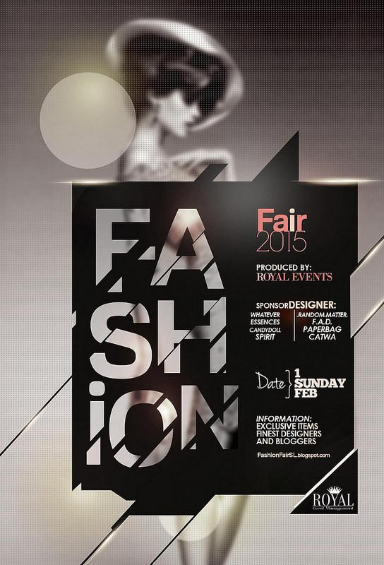 Fashion week poster for 2015