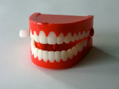 Chatty teeth for April fool